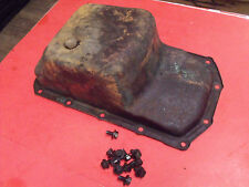 65-71 Jeepster Jeep CJ 2A 3A 3B 5 V6 Dauntless Oil Pan with Some Bolts