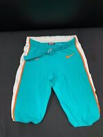 #37 MIAMI DOLPHINS NIKE GAME USED AQUA CURRENT STYLE PANTS 2019/2020 SEASON