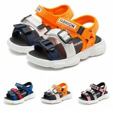Kids Boys Girls Summer Beach Sandals Trainers Shoes Casual Breathable Non-slip L