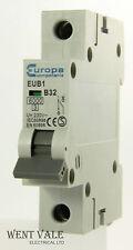 Europa Components - EUB1 - 32a Type B Single Pole MCB Used
