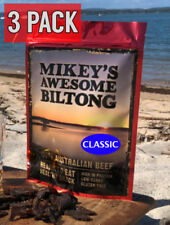 Mikeys Awesome Biltong - Classic Flavour 225 grams - 3 Pack