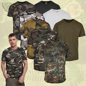 BRANDIT ARMY T-SHIRT ARMEE BUNDESWEHR SHIRT MILITÄR UNTERHEMD CAMOUFLAGE TARN BW