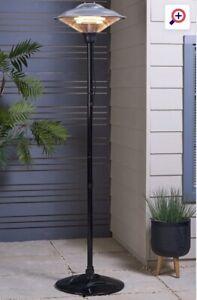Outdoor Patio Heater 2M Height 1500W IP34 Garden Free Standing