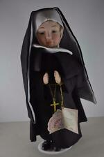 Ceramic Nun Doll Danea Porcelain Collection Limited Edition Rare