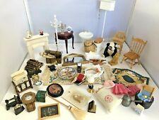 Vintage Dolls House 1/12 Furniture Accessories Job Lot 610