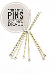 Split Cotter Pins Brass 1/16 To 3/16