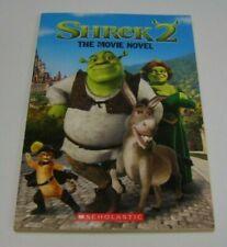 Shrek 2 The Movie Novel Paperback Great Condition Scholastic Inc.