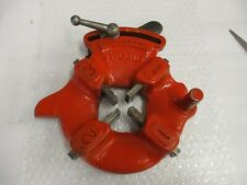RIDGID 811A Universal Quick Open Right Hand Die Head 1/8 to 2 Pipe 1/4 to 2 Bolt