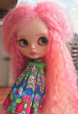 ♥ BLYTHE Custom Doll  Rerooted Mohair reroot ♥
