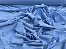 By the Metre Apparel-Dress Fabric Chambray