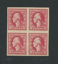 1920 US 2c Postage Stamp #532 Mint Never Hinged Very Fine Block of 4 Certified