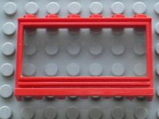 LEGO Red Window Panorama Ref 604c01 / Set 044 055 066 145 115 125 135 450 810...