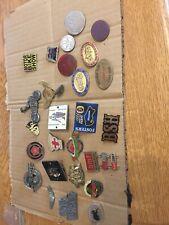 More details for mixed  job lot of vintage motorcycle / biker badges