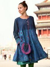 Gudrun Sjoden Beautiful  Cotton Dress Bess L (  Defects On Stitches )
