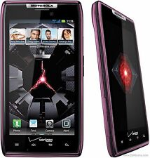 GOOD! Motorola Droid RAZR MAXX xt912 PURPLE Android 4G Touch VERIZON Smartphone