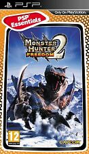 Monster Hunter Freedom 2 - Essentials (PSP) BRAND NEW SEALED