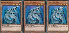 YUGIOH CARD - 3 X CYBER DRAGON  - BLRR-EN048  ULTRA  - RELENTLESS REVENGE