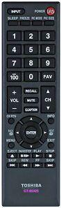 Original Toshiba TV Remote Control CT-90325 32C100U2 32C100UM 32C110U 32DT1