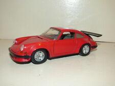 Bburago Porsche 911 Turbo red 1/24th scale