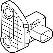 Nissan/INFINITI 985813SG5A Air Bag Impact Sensor (Front).