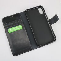 vest Anti Radiation Wallet Case for iPhone Xs (10s) with RFID Protection Bump