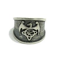 925 SILBER RING keltischer Drache R001464 EMPRESS