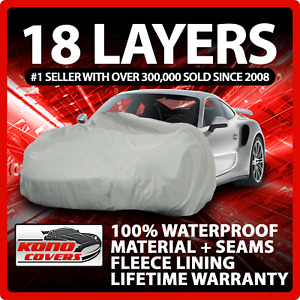 18 Layer Car Cover - Outdoor Waterproof Scratchproof Breathable