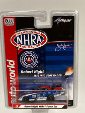 HO Slot 4Gear Robert Hight NHRA Auto Club Funny Car HO Slot Car R24 Drag Racing