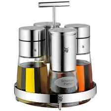 WMF Menage DE LUXE 5 teilig Pfeffer & Salz + Essig & Öl