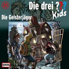 CD * DIE DREI ??? (FRAGEZEICHEN) KIDS - 21 - DIE GEISTERJÄGER # NEU OVP =