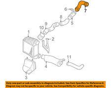 VW VOLKSWAGEN OEM Beetle Turbo Turbocharger Intercooler-Pressure Hose 1J0145838B