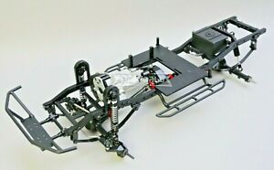 RC TRUCK CHASSIS LWB 2-Speed 314mm Wheel Base Rolling Chassis All METAL