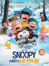 Affiche 120x160cm SNOOPY ET LES PEANUTS (2015) Le Film /THE PEANUTS MOVIE TBE