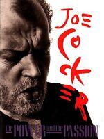 JOE COCKER 1990 POWER AND THE PASSION CONCERT TOUR PROGRAM BOOK / NMT 2 MNT