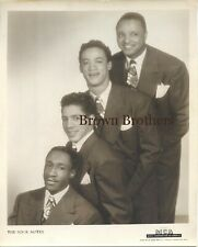 Vintage 1940s Jazz Singers The Four Notes Photo - Brown Brothers