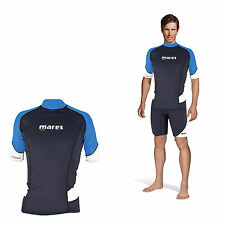 Mares Rash Guard Trilastic Short Sleeve - Herren