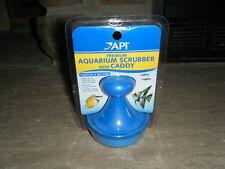 Api Premium Aquarium Scrubber With Caddy Easy No Slip Grip Removes Algae New Mip