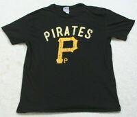 Pittsburgh Pirates Black Short Sleeve Crewneck Graphic Tee T-Shirt XL X-Large