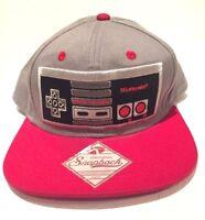 Nintendo Super Mario Bros Game Controller Snapback Hat #SB08NONCT Cap