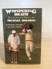 Whispering Death, Michael Holding, Andre Deutsch, 1993, First Edition