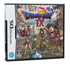 Dragon Quest 9 IX Nintendo DS Japanese Import RPG DQ IX 9 Hoshirozora USED