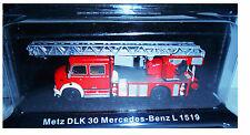 METZ DLK 30 MERCEDES-BENZ L 1519 - VIGILI DEL FUOCO FIRE TRUCK DE AGOSTINI 1:72