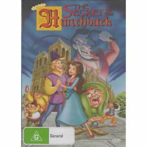 THE SECRET OF THE HUNCHBACK - Kid's Children -Kids DVD Rare Aus Stock New