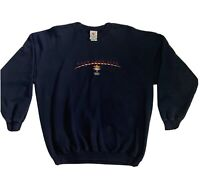 Vintage 2002 Winter Olympic Salt Lake City Games Crewneck Sweatshirt Size XL