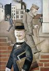 George Grosz : Grey Day : 1921 : Archival Quality Art Print