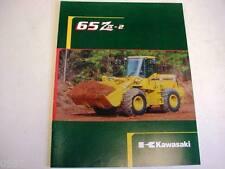 Kawasaki 65 Ziv-2 Wheel Loader Literature