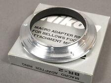 Nikon MACRO ADAPTER RING BR-2 FOR BELLOWS FOCUSING, TOP