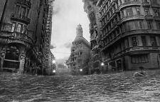 Stampa incorniciata-allagati città in rovina (PICTURE biblico INONDAZIONE DI CATASTROFE NATURALE ART