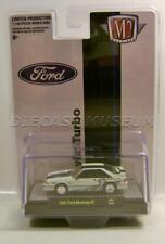 1987 87 Ford Mustang Gt Cobra Jet Foxbody Twin Turbo M2 Machines Diecast 2020
