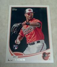 L.J. HOES 2013 TOPPS RC ROOKIE CARD # 148 A0688